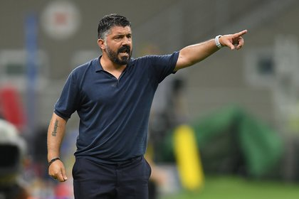 Gattuso arremetió contra sus jugadores tras la derrota ante Inter (REUTERS/Daniele Mascolo)