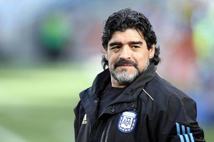 El astro del fútbol, Diego Armando Maradona, falleció este miércoles en su residencia de la provincia de Buenos Aires a los 60 años (Foto: EFE / EPA / OLIVER WEIKEN / Archivo)