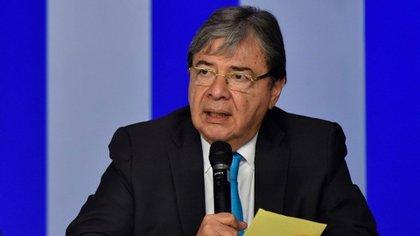 Carlos Holmes Trujillo, canciller de Colombia (EFE)