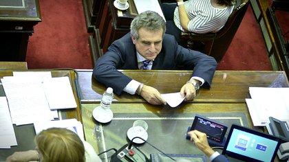 Rossi estuvo al frente de la bancada de diputados del PJ durante el macrismo (Gustavo Gavotti)