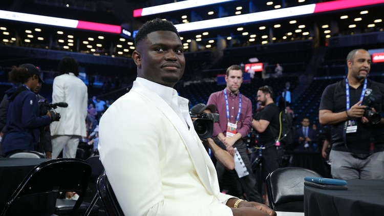 Zion Williamson, el primer seleccionado del NBA draft 2019 (USA TODAY Sports)
