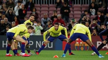 Barcelona marcha en la segunda colocación del torneo local (REUTERS/Albert Gea)