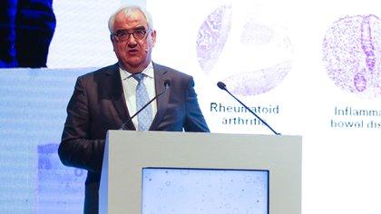 Paul Stoffels es uno de los líderes mundiales en innovación biomédica