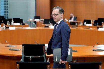 El ministro de Relaciones Exteriores de Alemania, Heiko Maas