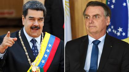 Nicolás Maduro y Jair Bolsonaro