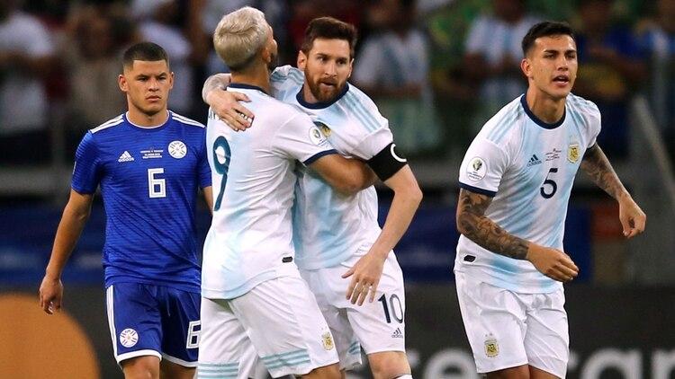 Messi y Agüero compartieron muchos momentos juntos en la selección - REUTERS/Luisa Gonzalez