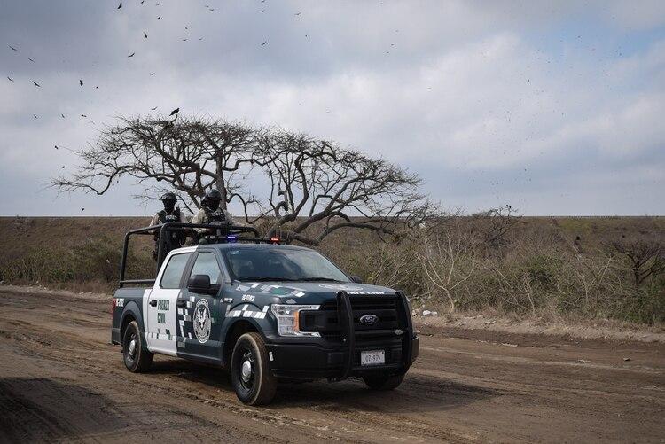 Maricel Torres revela que llegaron a esa zona por un reporte anónimo acerca de la posible presencia de los restos de una joven. (FOTO: VICTORIA RAZO /CUARTOSCURO)
