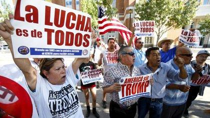 La comunidad latina inmigrante en EEUU sería una de las más afectadas con las medidas de Trump