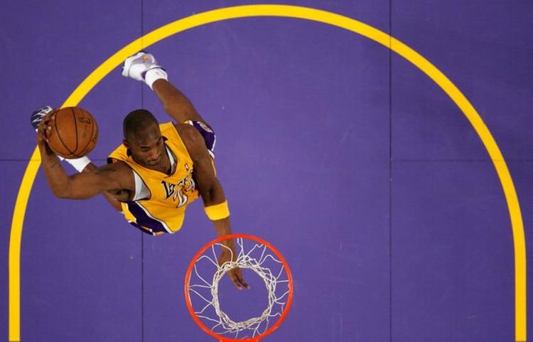 Bryant jugó toda su carrera en los Lakers - REUTERS/Lucy Nicholson