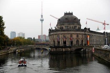 Una vista general muestra el Museo Bode de Berlín (REUTERS / Fabrizio Bensch)