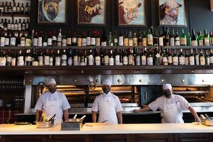 Reapertura Parrilla Restaurante Don Julio (Foto: Franco Fafasuli)