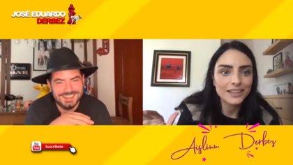 José Eduardo Derbez aprovecha la cuarentena para publicar videos con sus familiares y amigos en videollamada (Foto: Instagram)