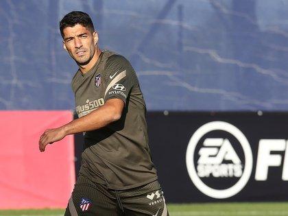 Luis Suárez ya encaró nuevos desafíos con la camiseta del Atlético Madrid