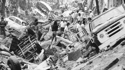 El 22 de abril de 1992 se suscitó una explosión en el sistema de alcantarillado de Guadalajara, Jalisco (Foto: CENAPRED)