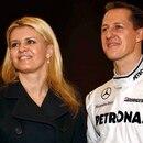 Motorsports / Formula 1: Mercedes GP Petronas Car Launch, 03 Michael Schumacher (GER, Mercedes GP Petronas) mit seiner Frau Corinna *** Local Caption *** +++ www.hoch-zwei.net +++ copyright: HOCH ZWEI / Juergen Tap +++