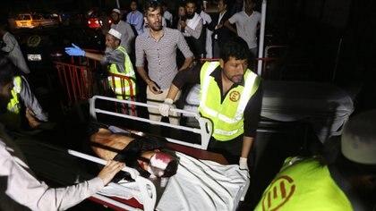 Heridos en una explosión en un casamiento en Kabul (EFE)