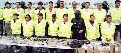 Integrantes del Cártel de La Laguna (Foto: archivo)