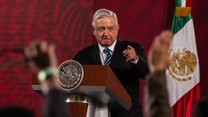 López Obrador ha declarado cosas contrarias a las recomendaciones sanitarias oficiales (Foto: Cuartoscuro)