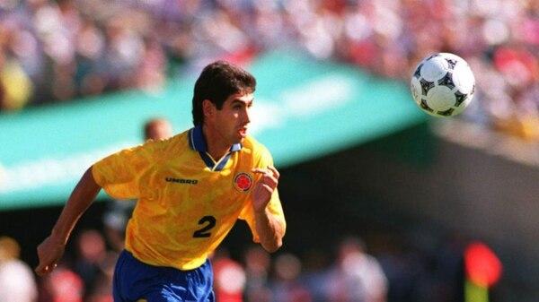 Andrés Escobar, defensa de la Selección Colombia.