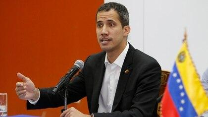 Juan Guaidó (EFE/Wladimir Torres)
