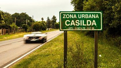 El día que el Zonda aceleró por Casilda, Santa Fe, la tierra natal de Pagani (Pagani Automobili).