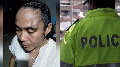 Denuncian que policía habría agredido a una líder social en Tierralta, Córdoba. Fotos: cortesía y archivo.