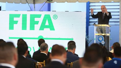 Desde las oficinas de la FIFA en Suiza ofrecieron un comunicado con declaraciones de Infantino (Foto: EFE)