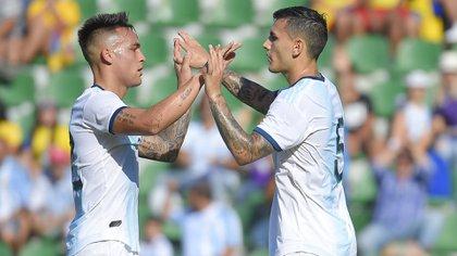Leandro Paredes, uno de los pilares de Lionel Scaloni en la selección argentina (Photo by JOSE JORDAN / AFP)