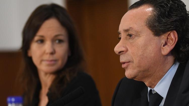 Dante Sica y Carolina Stanley (Fabián Ramella)