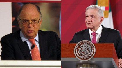 La polémica entre ambos personajes surgió después de que los opositores de López Obrador publicaran una carta en contra del mandatario. (Foto: Cuartoscuro)