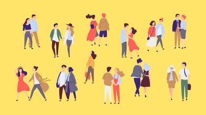 Un nuevo estudio proporciona evidencia de que la frecuencia de los besos es un fuerte indicador de la satisfacción sexual y de una relación (Shutterstock)