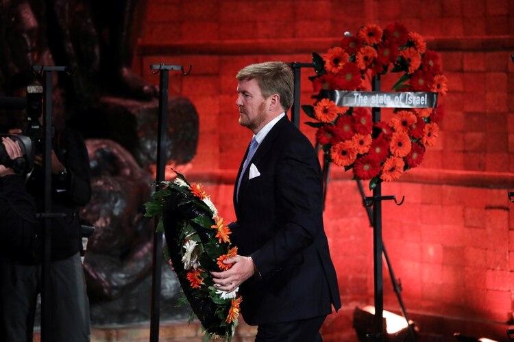El rey de los Países Bajos, Willem-Alexander. Foto: Abir Sultan/REUTERS