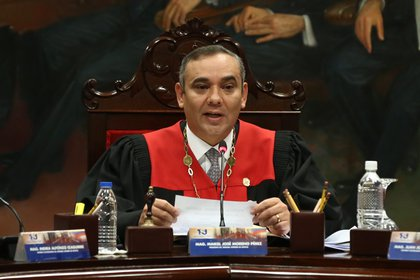 El presidente del Tribunal Supremo de Justicia (TSJ) de Venezuela, Maikel Moreno dio positivo por coronavirus (Pedro Mattey/dpa)