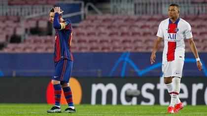 Mbappé desplazó a Messi como el jugador más cotizado del mundo (REUTERS/Albert Gea)