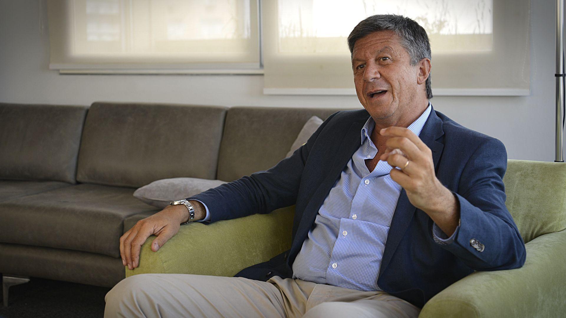 Gustavo Menna, diputado nacional por la Unión Cívica Radical, Chubut