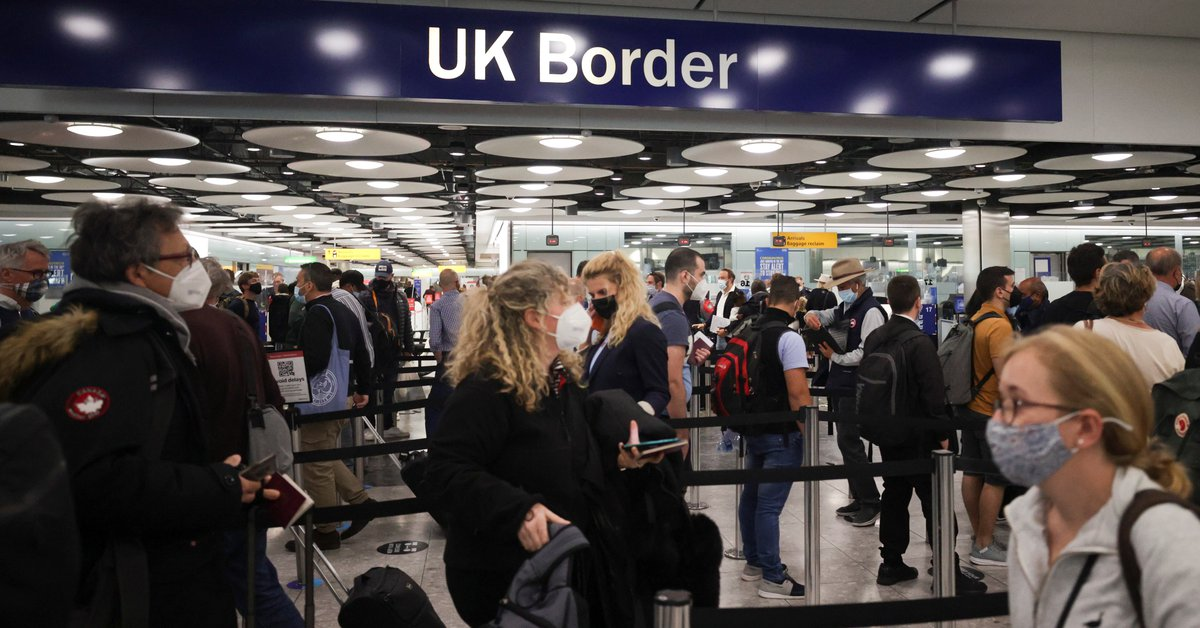 """US issues a """"do not travel"""" recommendation to UK due to a surge in Covid-19 cases"""