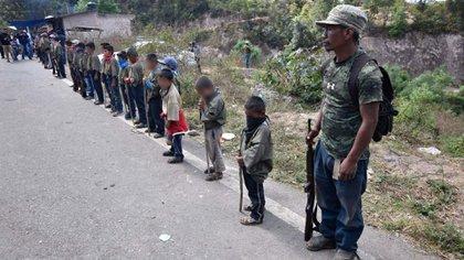 Los principales dirigentes de la CRAC-PF han sido señalados como presuntos responsables de masacres, secuestros y de la violencia que se vive en la zona de la Montaña Baja (Foto: Cuartoscuro)