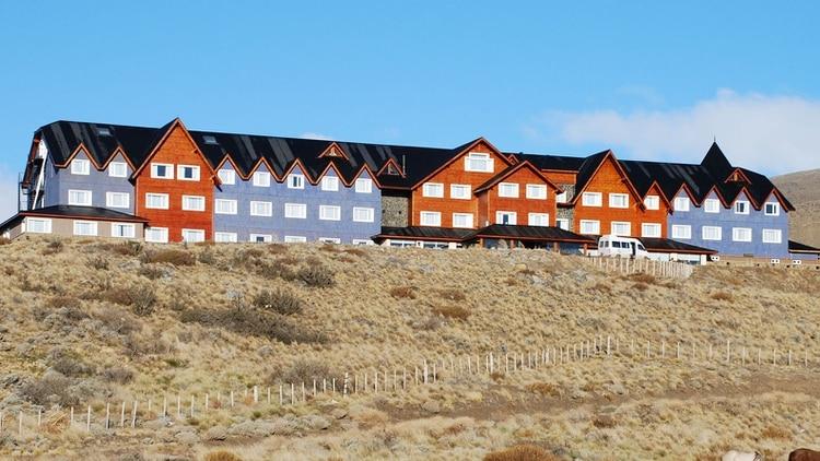 El hotel Alto Calafate, propiedad de los Kirchner (NA)