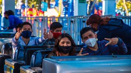 Six Flags reabrió sus puertas el pasado 5 de octubre en la Ciudad de México (Foto: Twitter@SixFlagsMexico)