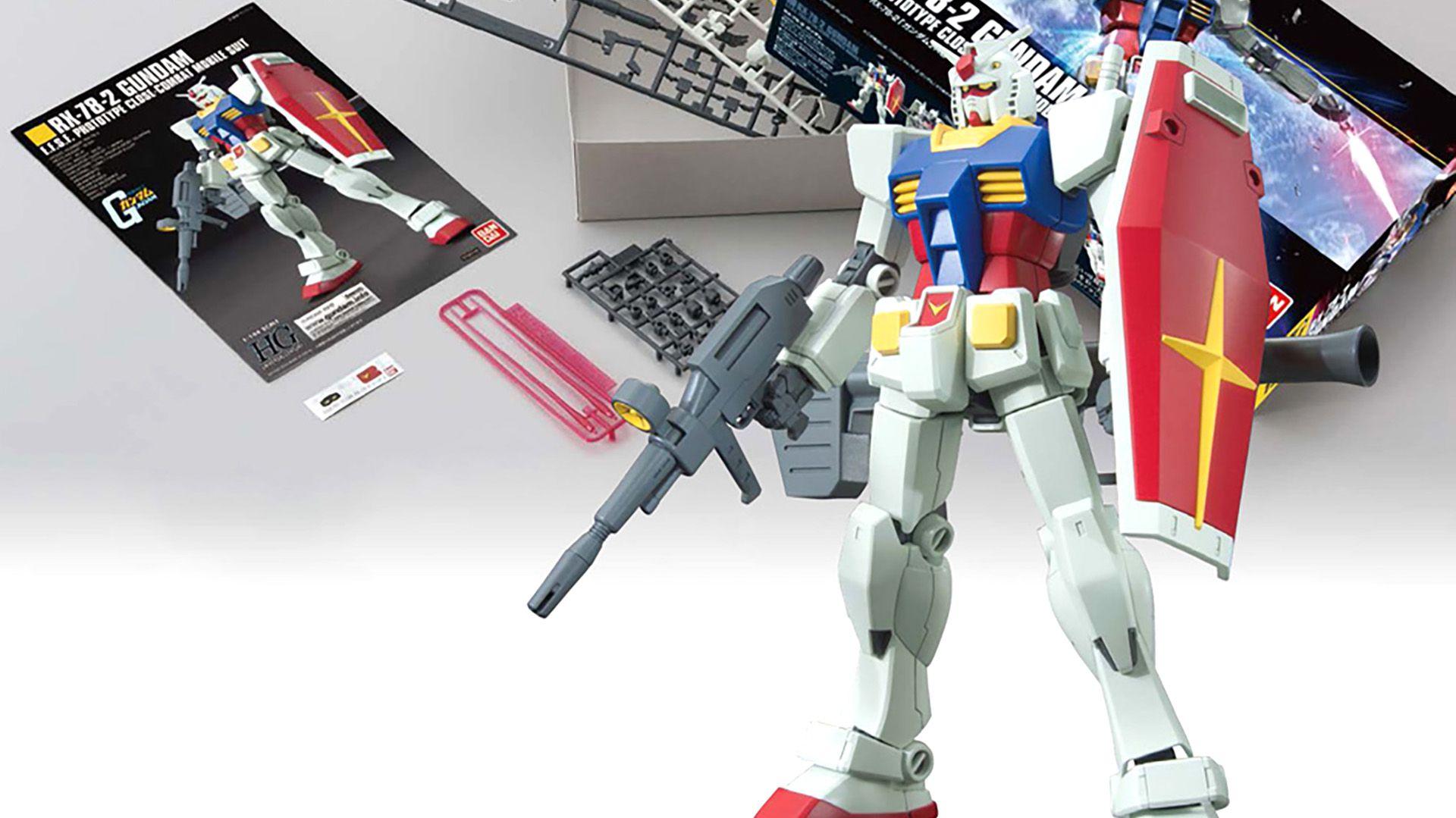 Gunpla, robots de plástico japoneses, de colección