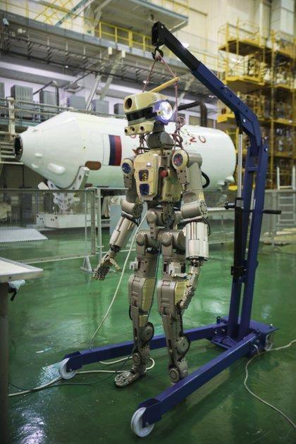 El robot humanoide Fedor (AP)