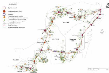 Después serán licitados los primeros cuatro tramos del Tren Maya para comenzar su construcción (Foto: Sectur)