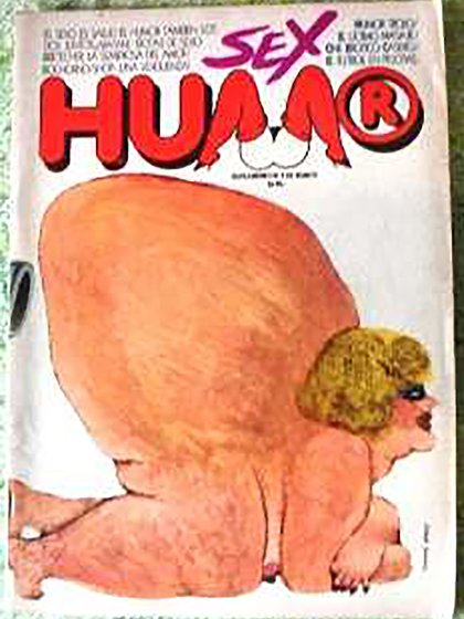 La revista Sex Humor