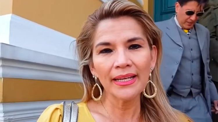 Jeanine Áñez, segunda vicepresidente del senado de Bolivia