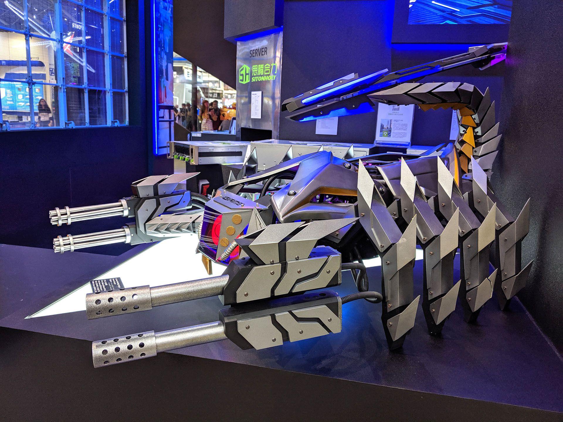 """Este diseño, bautizado """"Escorpión"""", es obra de la empresa Suchao modding&design, que se especializa en este tipo de armados."""