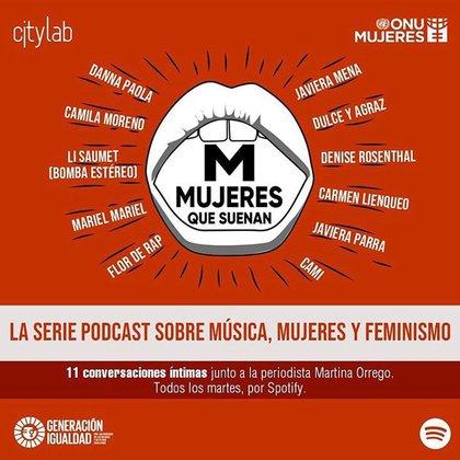 M - Mujeres que suenan