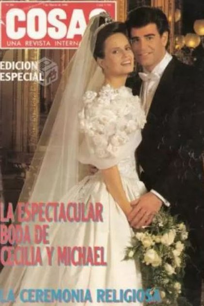 El casamiento de Bolocco fue cubierto por todos los medios y dio nacimiento al periodismo de espectáculos en Chile