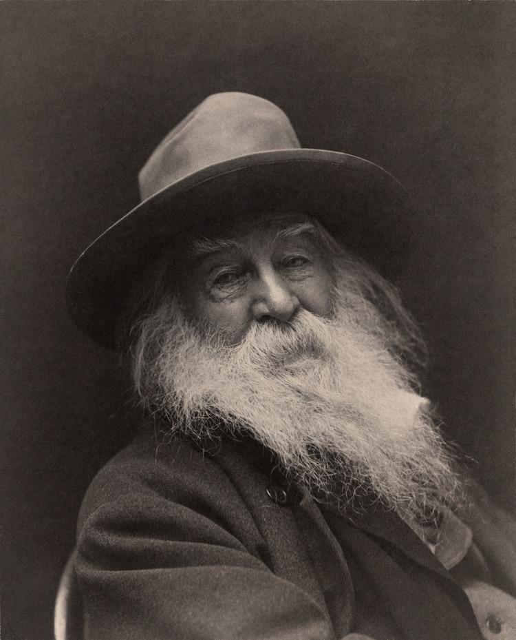 Walt Whitman (foto de Georgie C. Cox)
