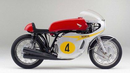 Rojo para la moto que consiguió el campeonato de equipos (Honda)
