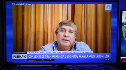 José Mayans anunció que esta semana se votará en el recinto (Charly Diaz Azcue / Comunicación Senado)